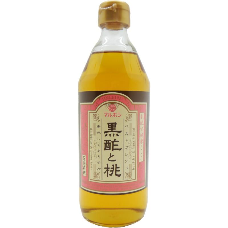 黒酢と桃500